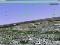 google earth - symulator lotu