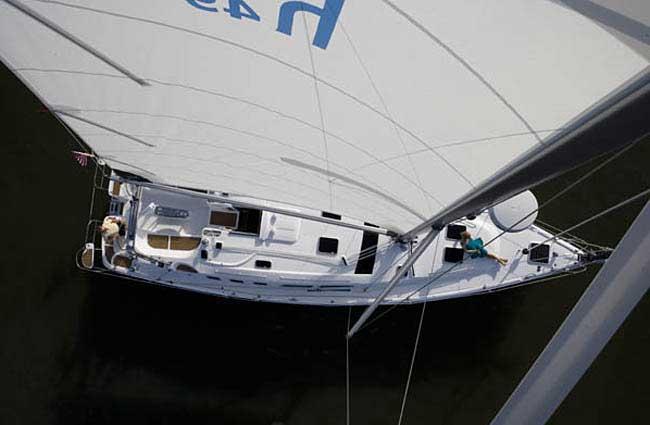 ... A 2009 Hunter 49 Aft Cockpit Sailboat for sale St Augustine Florida USA.