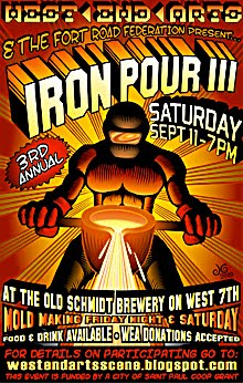3rd ANNUAL IRON POUR
