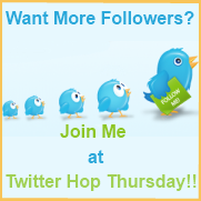 Thursday Twitter Hop, Twitter Bird Image