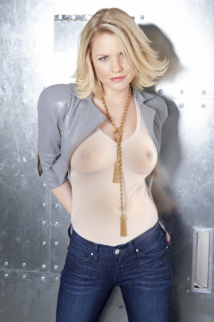 Carrie Keagan see through pokies nippy