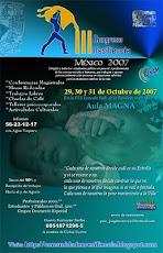 III CONGRESO RESILIENCIA MEXICO 2007