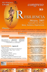 1er. Congreso Resiliencia Mxico 2005