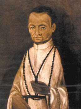 Verdadera imagen de San Martín de Porres