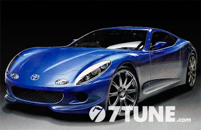a new Toyota's sports car?