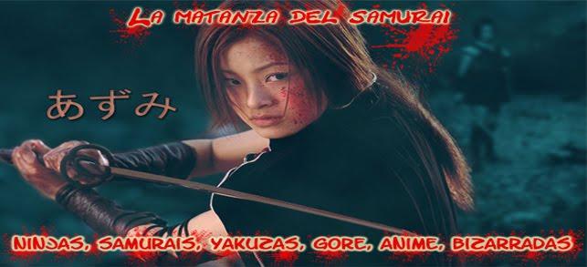 la matanza del samurai