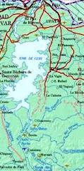 Mapa del Municipio Piar