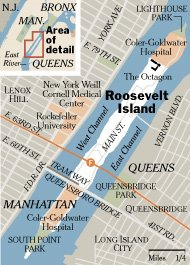 Roosevelt Island MAP