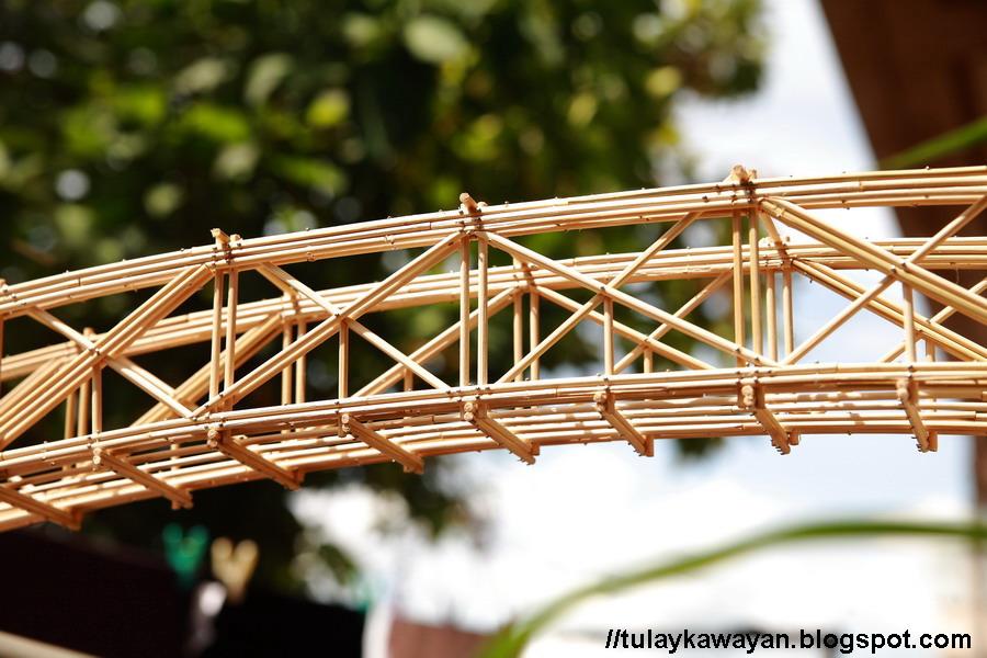 how to build a model truss bridge