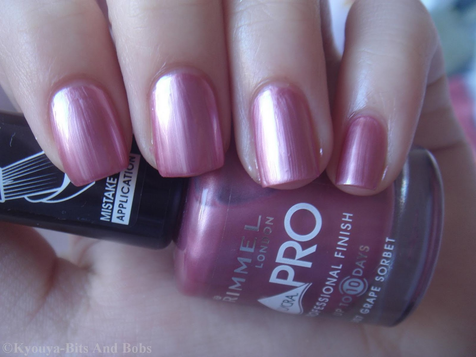Bits and Bobs: Rimmel Grape Sorbet
