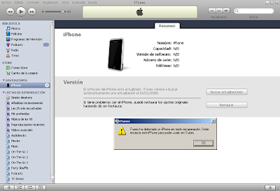activate & jailbreak the iPhone 1.1.2 OTB on Windows - Downgrade (2/4