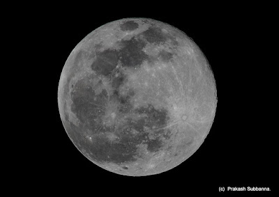 Lunar Eclipse Bangalore ABAA