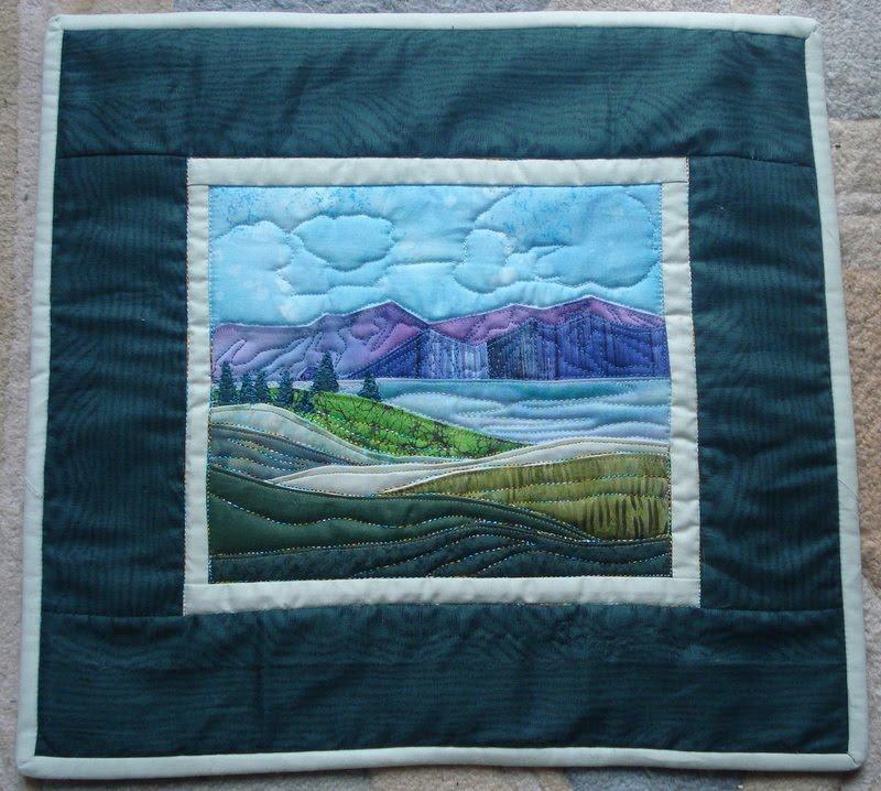 Taniwa Landscape Quilt