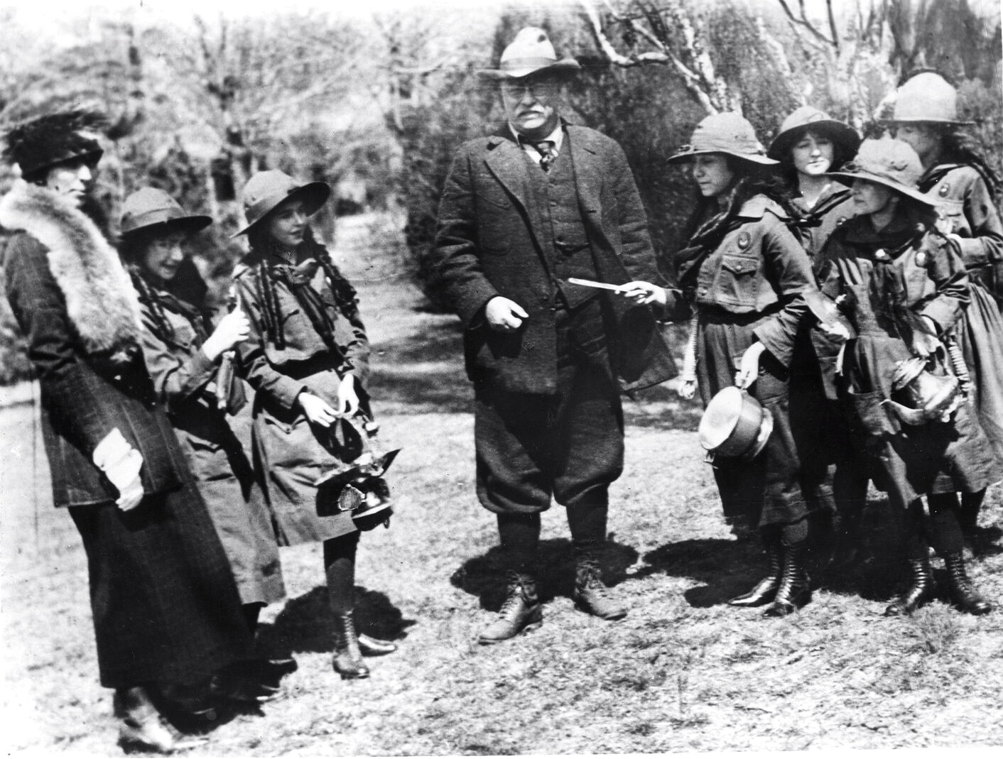 Theodore Roosevelt Quotes The Roosevelts & The Girl Scouts My Two Research Worlds  Stacy A