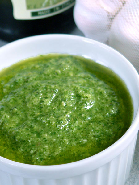 pesto sauce let s cook our pesto sauce wash and