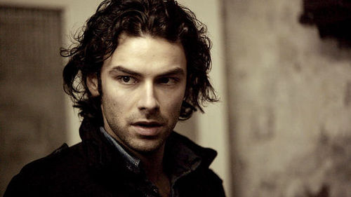 Have I mentioned I have a thing for guys with curly, dark hair and hot