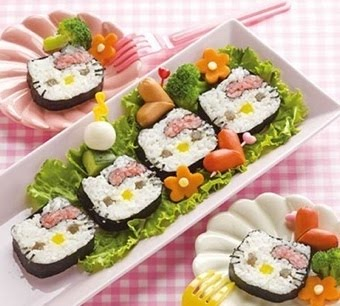 Hello Kitty Sushi Anyone?