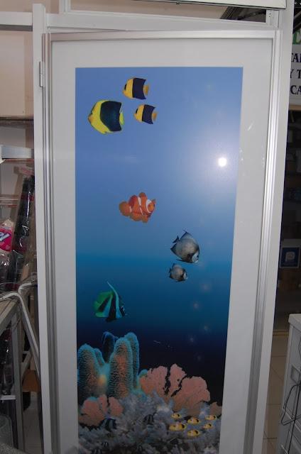 Puertas De Baño Imagenes:VENTANAS Y PUERTAS TÉRMICAS: cancel para baño con dibujo