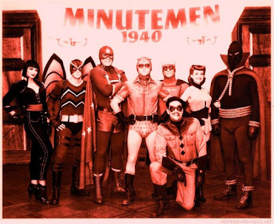 Watchmen Minutemen superhero team