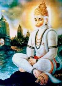 Hanuman Bajrang Bali Hindu God