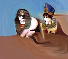 faraones:perlito cleopatro y rositankamon