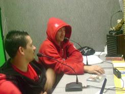 entrevista na radio