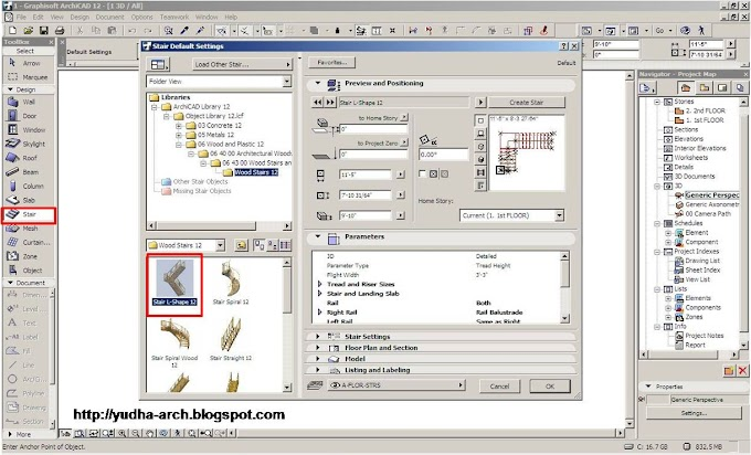 Membuat 3D Document Pada ArchiCAD 12