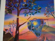 Homenaje encubierto a Dalí (relojes blandos)
