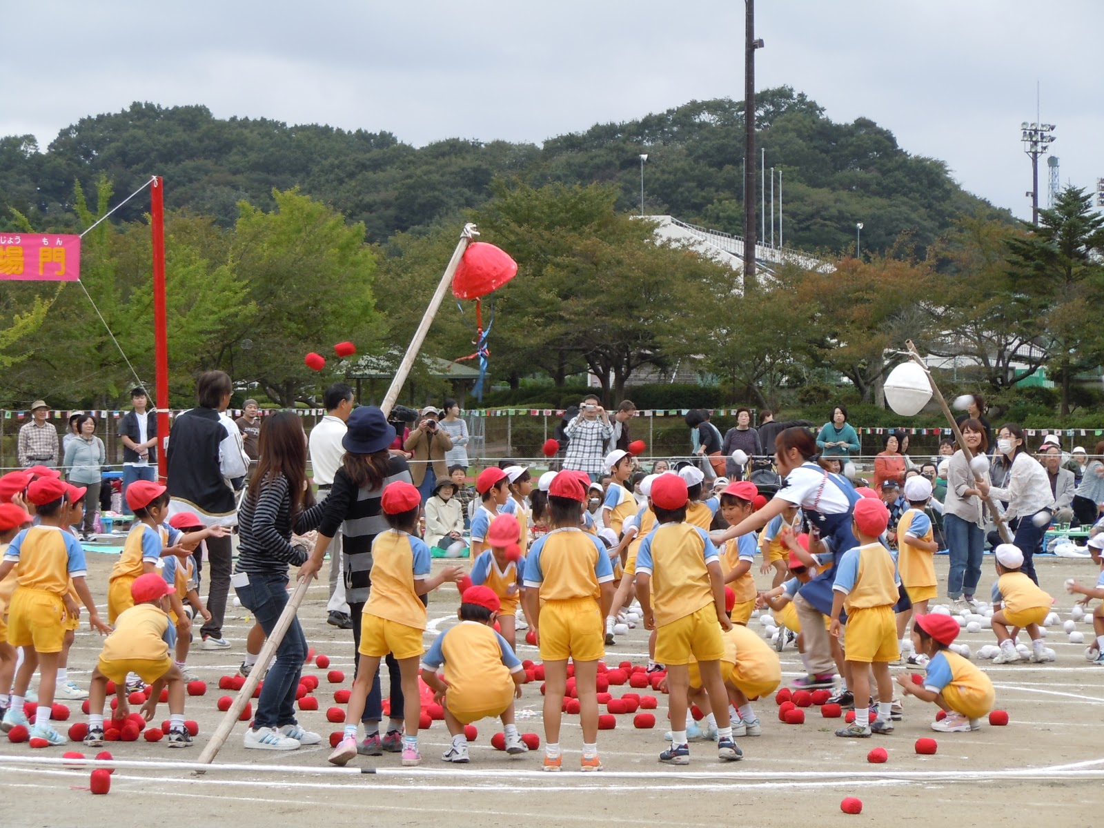 a japanese life undokai  health and sports day