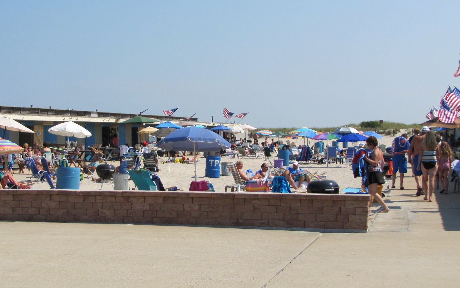 Long Island Beach Club Cabana