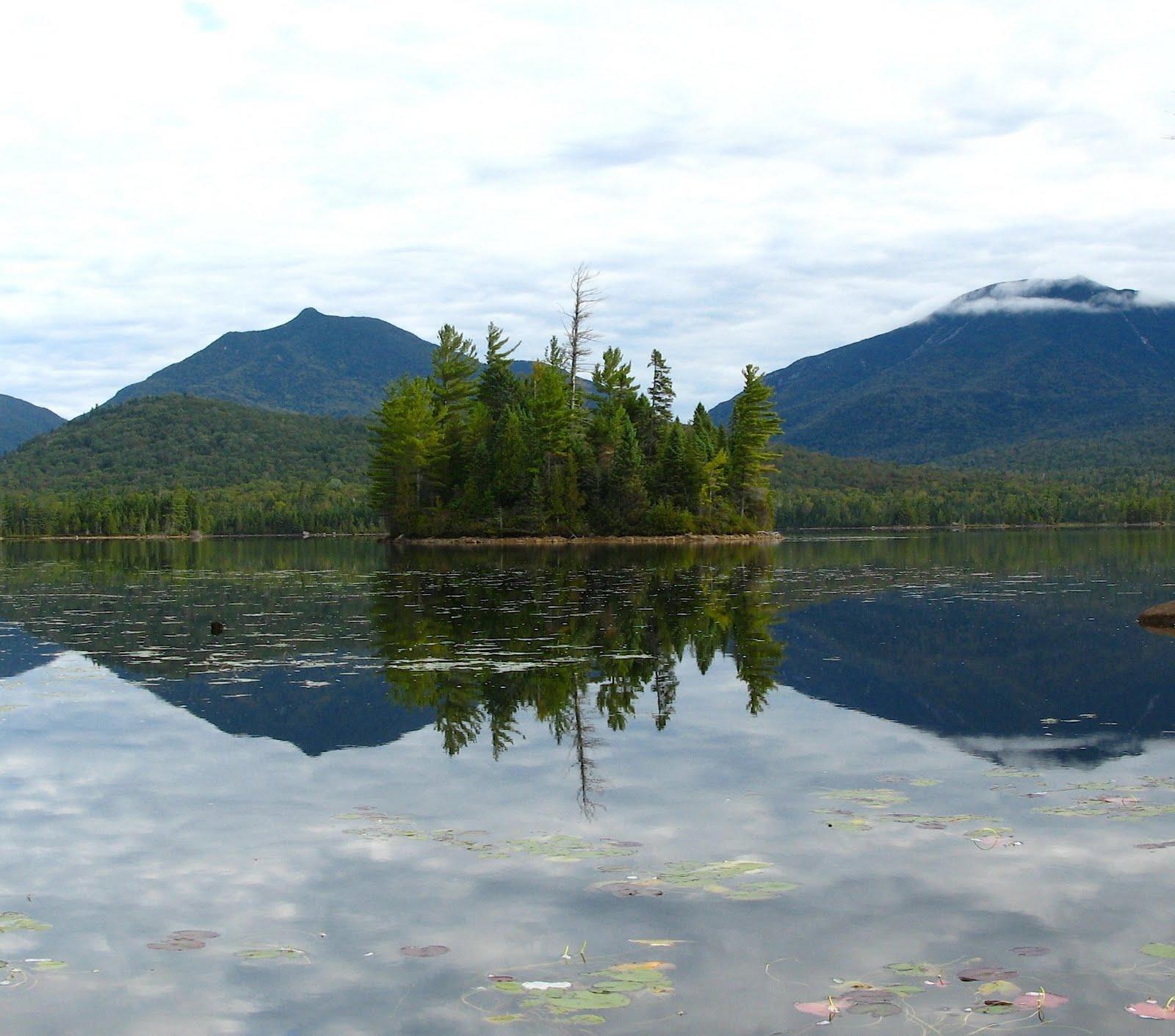 Elk Lake Adirondacks Elk Lake is Dotted With Many