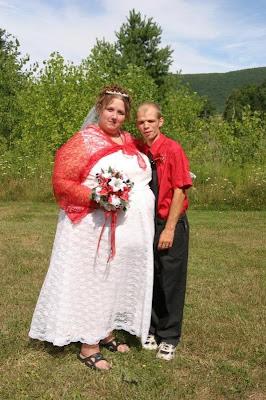 White Trash Couple Prom