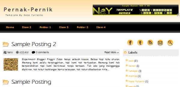 Image of Pernak Pernik - Template Blogger penuh hiasan