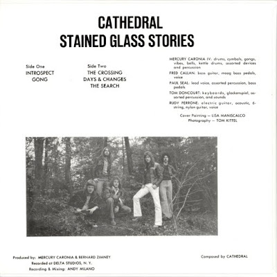 Cathedral - Stained Glass Stories (Progressive Rock US 1978)