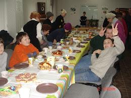 Church Fellowship on Dec.2nd