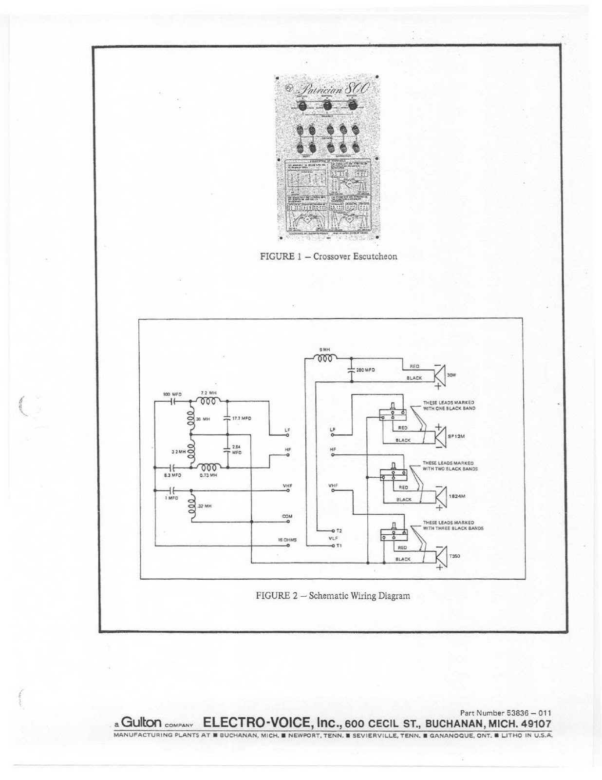 Retro Vintage Modern Hi Fi Electro Voice Patrcian 800 Wiring Diagram For Robert