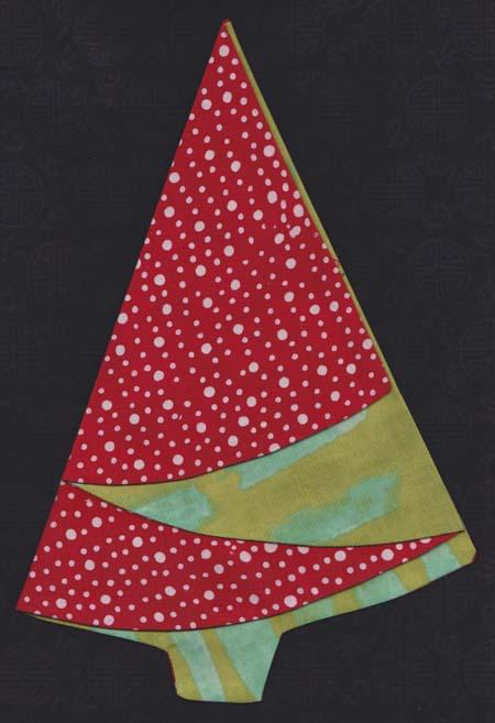 Folding Napkins Christmas Tree