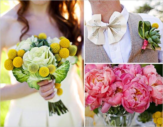 Stylish Green Wedding Shoot
