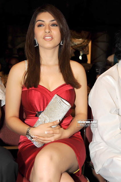 Hansika Motwani in Red Outfit