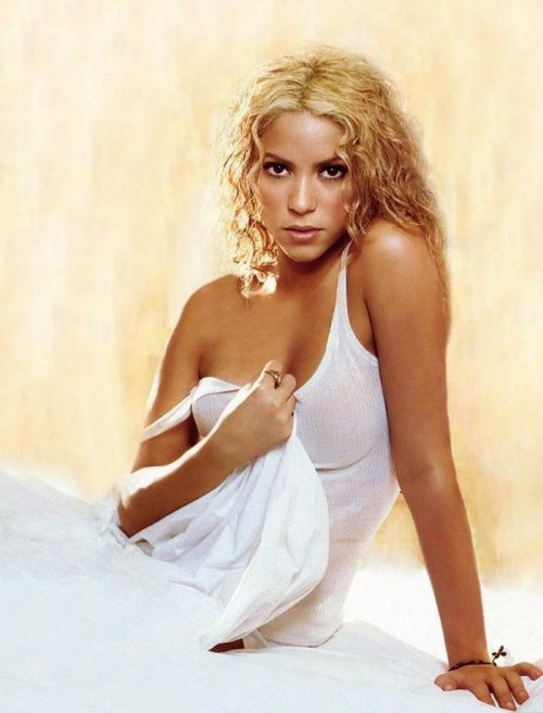 Beautiful and Hot Shakira