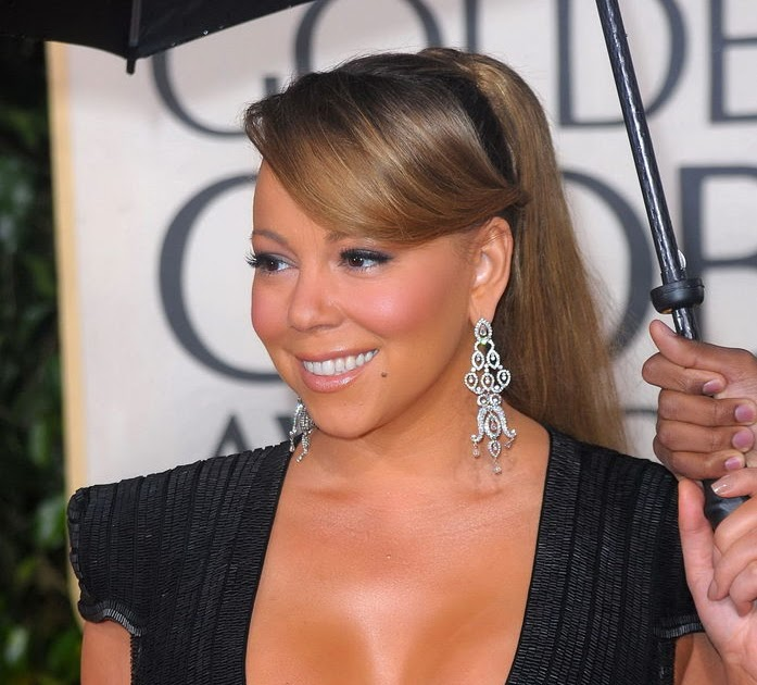 Mariah carey big cleavage opinion