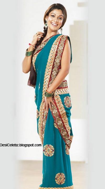 Hot Nayanthara in saree