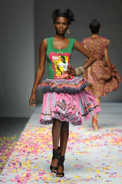 David Tlale Traditional Dresses