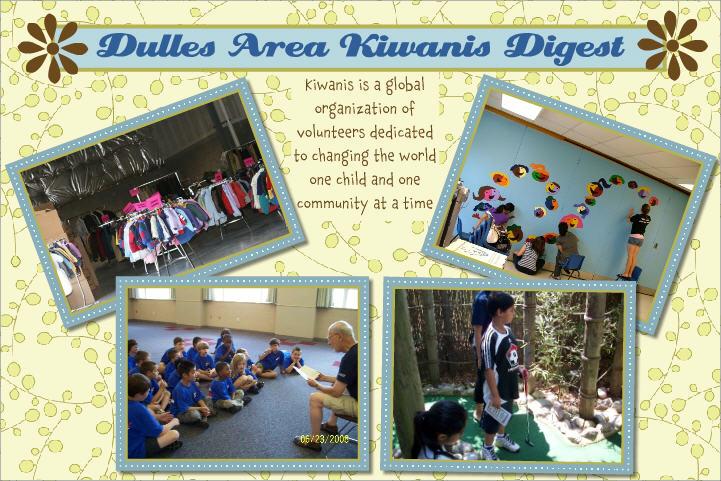 Dulles Area Kiwanis Digest