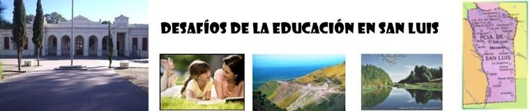 Desafíos     de     la     Educación     en     San     Luis