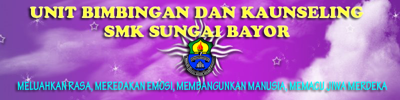 UNIT BIMBINGAN DAN  KAUNSELING SMK SG BAYOR