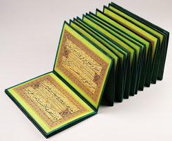 Muraqqaa (álbum). Tinta, color y oro sobre papel pegado sobre cartón. 1849