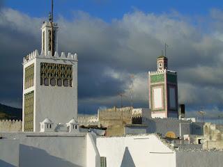 Aspecto urbano de Tetuán (Marruecos) [Foto: Alejandro Pérez Ordóñez]