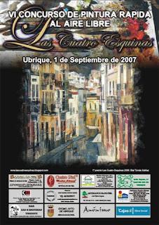 Cartel anunciador de la VI Edición (2007) [Diseño: Juan Manuel Román García]