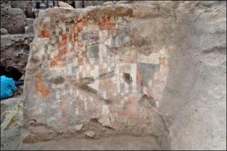 Pinturas murales neolíticas descubiertas en Siria